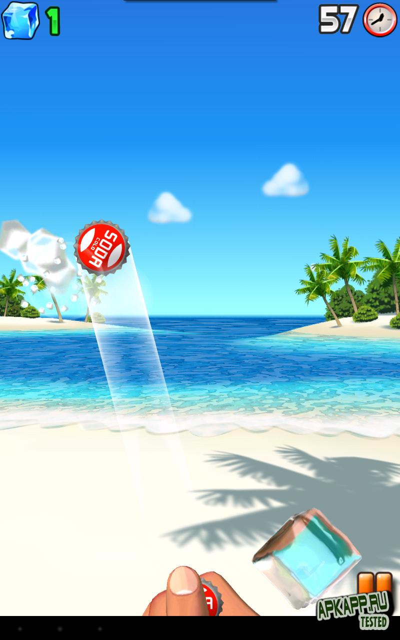 Игра Bottle Cap Blitz на Андроид