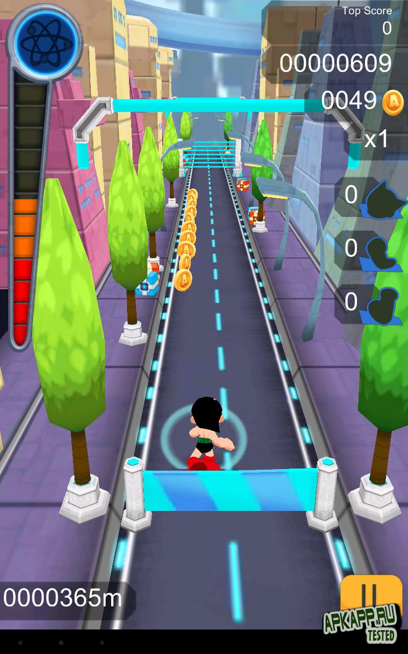 Игра Astro Boy Dash на Андроид