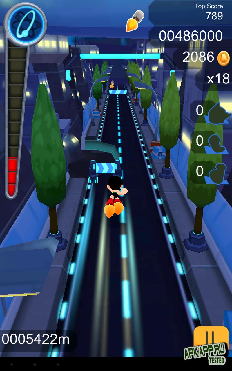 Игра Astro Boy Dash для планшетов на Android