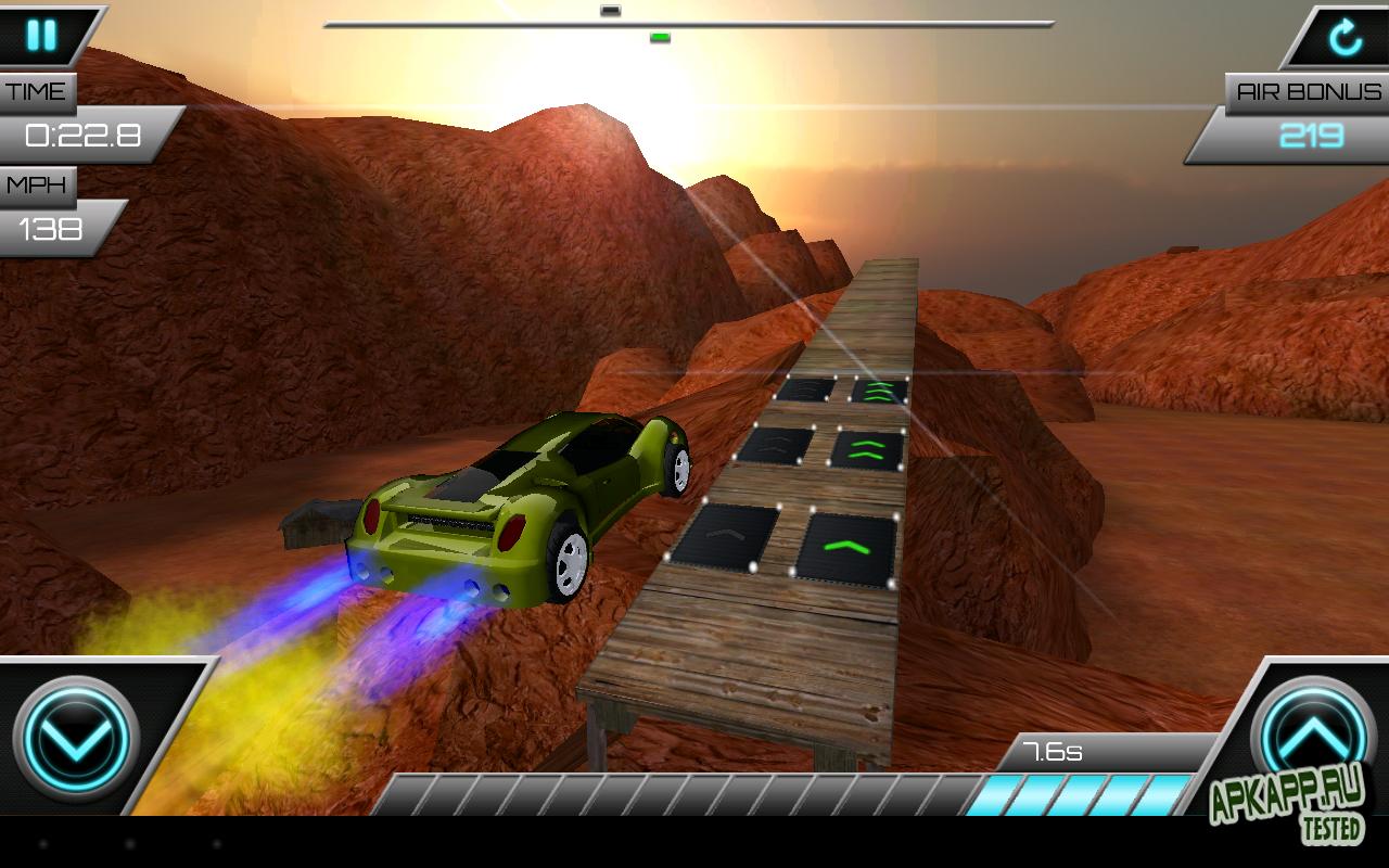 Игра Jump Racer на Андроид