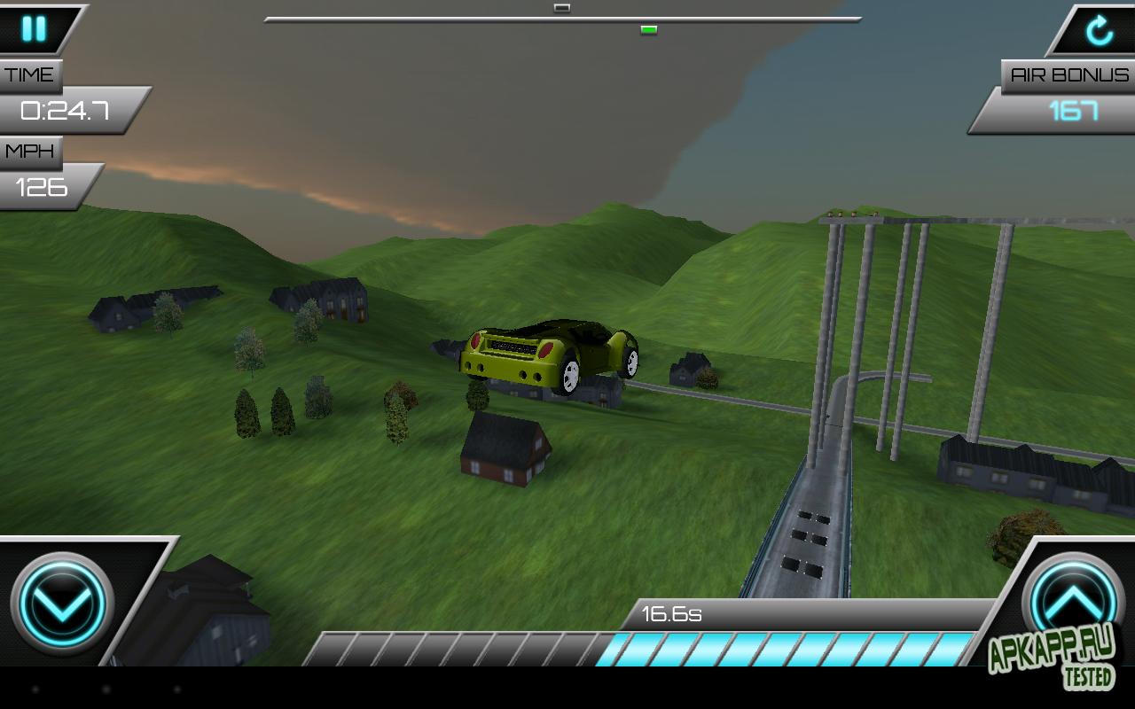Игра Jump Racer для планшетов на Android