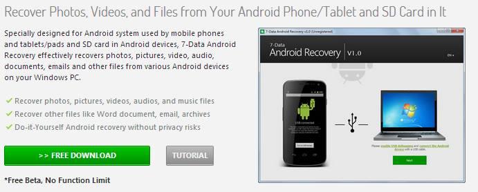 Восстановление файлов, программ, фото на планшете