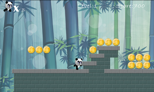 Игра Panda Run для планшетов на Android