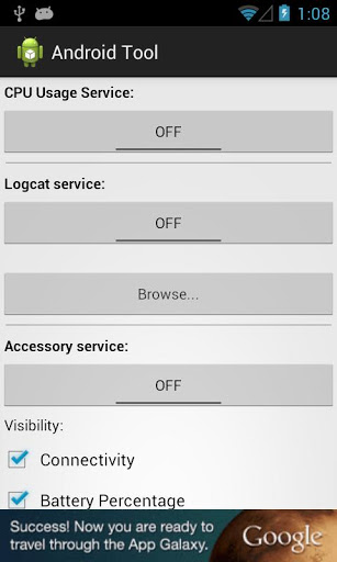 Приложение Android Tool для планшетов на Android