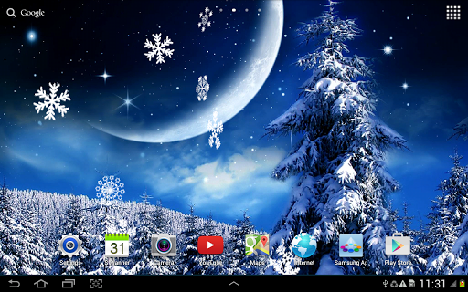 Зимняя Ночь на Андроид