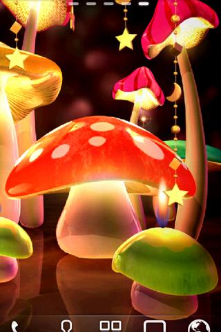 Mushroom Light LiveWallpaper скачать на Андроид