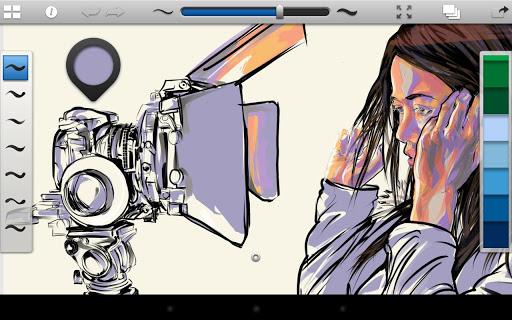 """Приложение для рисования """"SketchBook Ink"""" для планшетов на Android"""