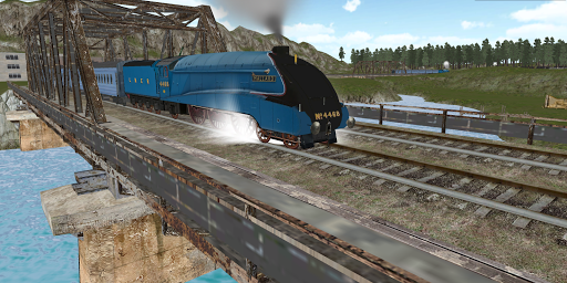 """Игра """"Train Sim Pro"""" на Андроид"""