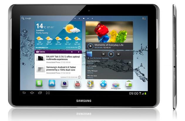 Samsung Galaxy Tab 2 10.1 - обзор и видео обзор планшета