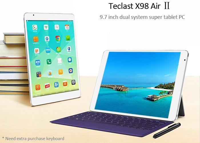 Встречайте новинку от Teclast – планшет X98 Air II