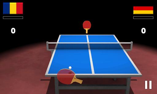 "Игра ""Virtual Table Tennis 3D"" на Андроид"