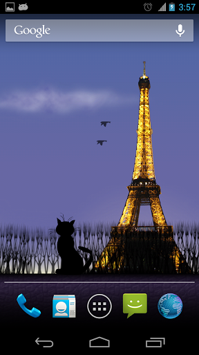Mon Paris Live Wallpaper Free