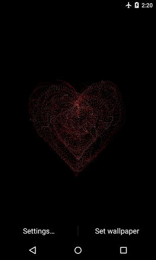 Мистическое сердце - Живые обои скачать на Андроид
