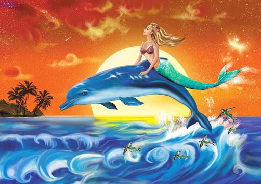 Сказка О чем поют дельфины для планшетов на Android