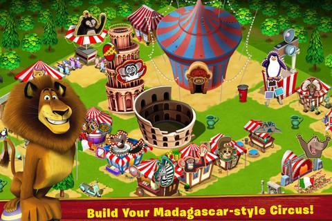 "Игра ""Madagascar - Join the Circus!"" на Андроид"