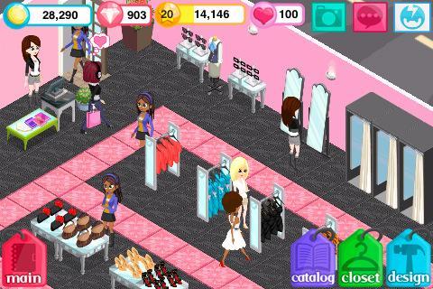 "Игра ""Fashion Story"" для планшетов на Android"