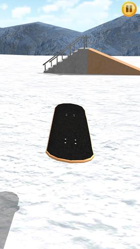 Finger Snowboard 3D для планшетов на Android