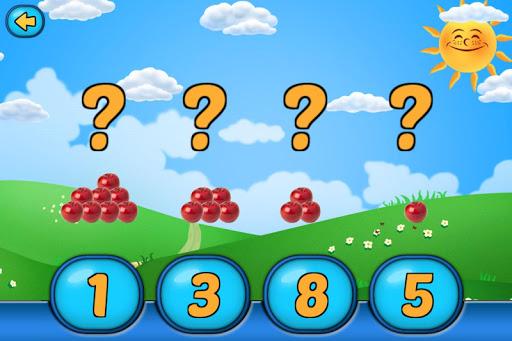 Игра Математика для дошкольников для планшетов на Android