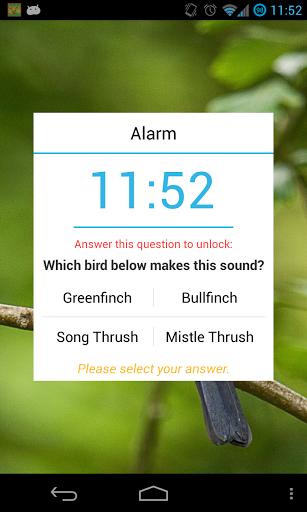 """Будильник """"Morning Bird Alarm Clock"""" для планшетов на Android"""