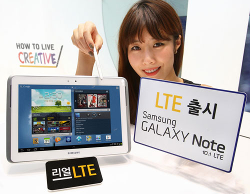 Вышла версия планшета GALAXY Note 10.1 с 4G-модулем