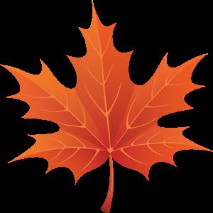 3D Осенние Кленовые Листья