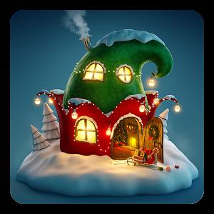3D Рождественская тема