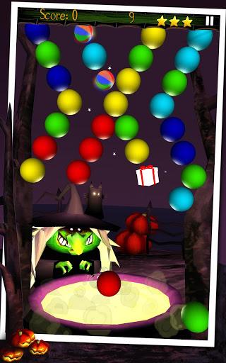 Мыльные пузыри Halloween на Андроид