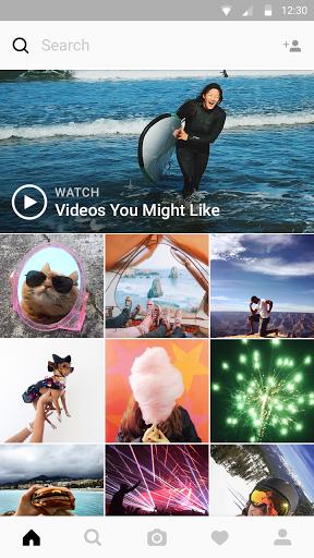 Instagram скачать на планшет Андроид