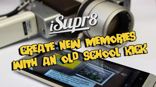 Приложение Vintage 8mm Video Camera для планшетов на Android