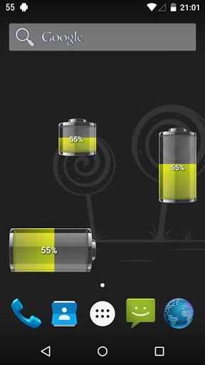 """Виджеты """"Battery HD Pro"""" на Андроид"""
