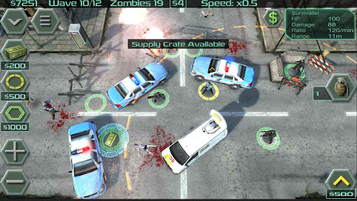 Zombie Defense скачать на Андроид
