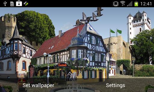 "Живые обои ""Castle Square Live Wallpaper"" для планшетов на Android"