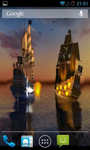 Pirates Live Wallpaper скачать на Андроид