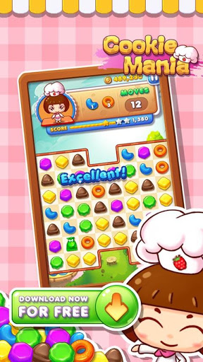 Cookie Mania для планшетов на Android