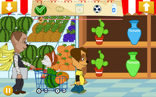 Барбоскины: Супермаркет скачать на Андроид