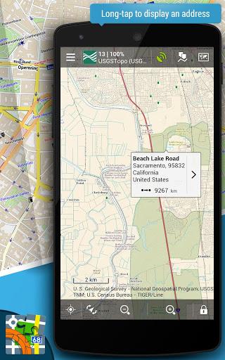 Просмоторщик карт Locus Pro для планшетов на Андроид