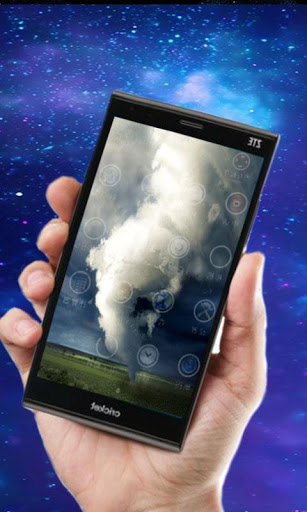 Торнадо - живые обои на Андроид