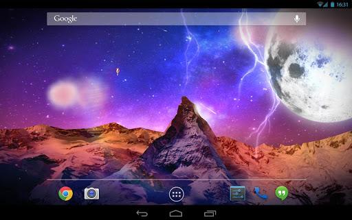 Storm Mountain 3D Wallpaper для планшетов на Android