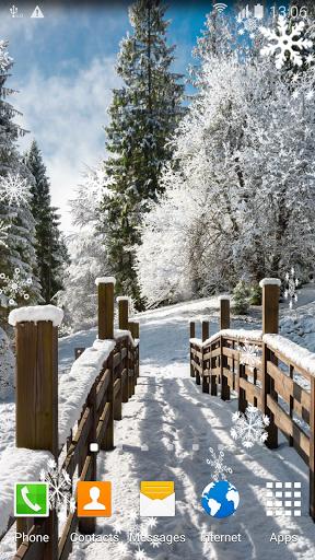 Зимние Пейзажи. Живые Обои скачать на Андроид
