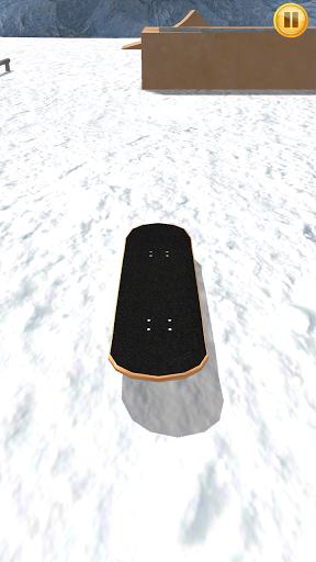 Finger Snowboard 3D на Андроид