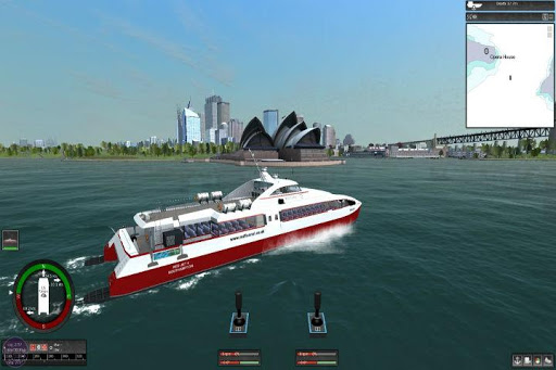 Игра Ship Simulator для планшетов на Android