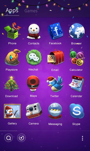 Happy New Year Launcher Theme для планшетов на Android