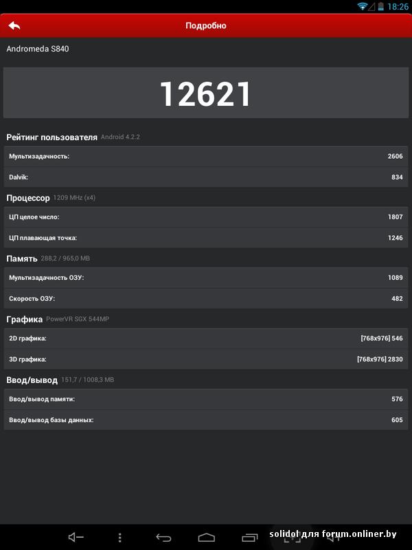 Обзор планшета Starway Andromeda S840 Mini + видео