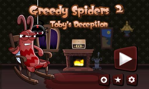 "Игра ""Greedy Spiders 2"" для планшетов на Android"