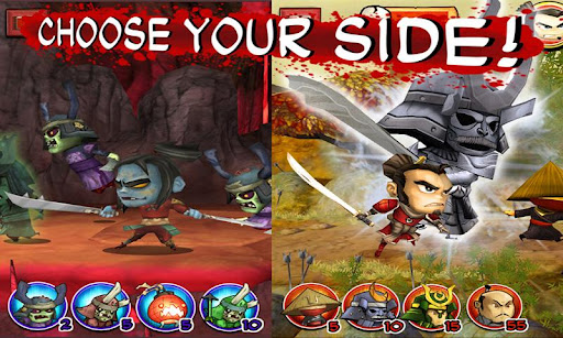 "Игра ""Samurai vs Zombies Defense"" для планшетов на Android"