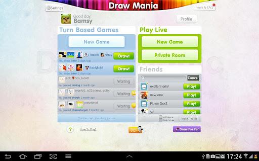 "Игра ""Draw Mania"" на Андроид"