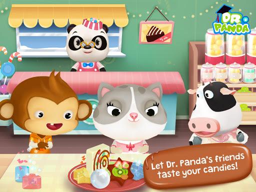 Конфетная фабрика Dr. Panda скачать на планшет Андроид