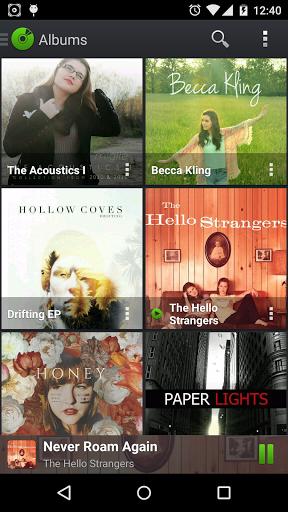 "Плеер ""PlayerPro Music Player"" для планшетов на Android"