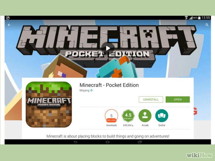 Как обновить Minecraft на планшете?