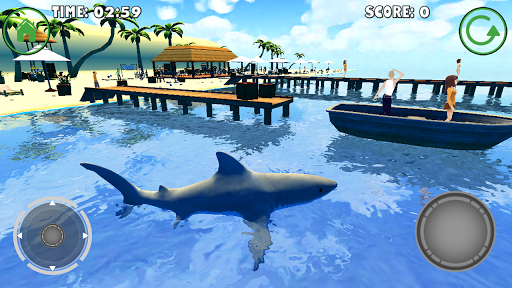 Игра Shark Simulator для планшетов на Android